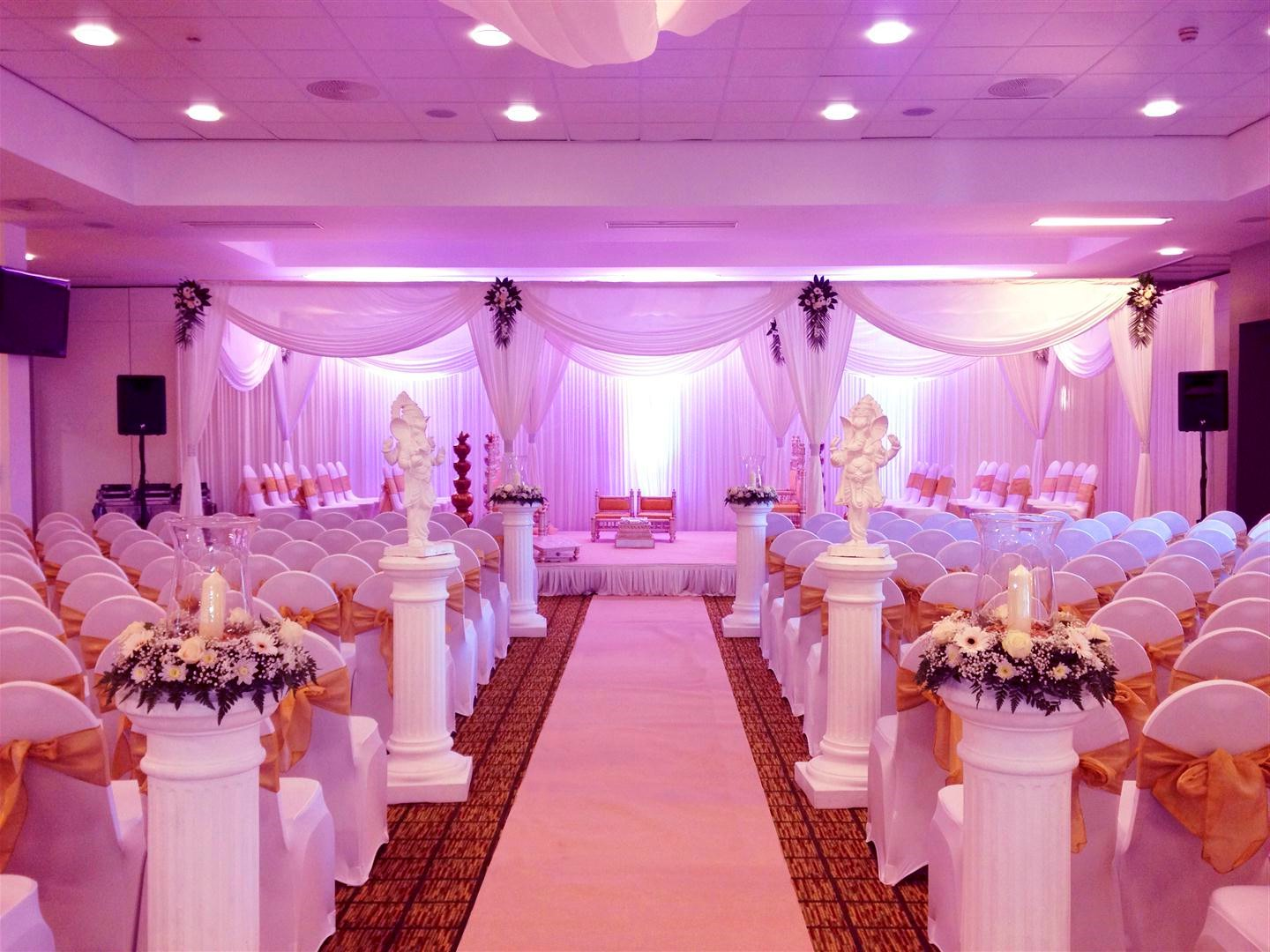 Wedding interior decoration for Hotel wedding decor